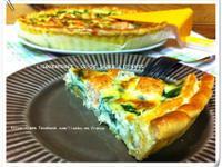 法式鮭魚菠菜鹹派