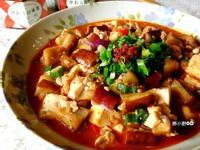 茄燒辣味豆腐