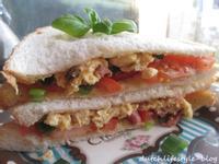 10分鐘料理~法式爆蛋培根三明治