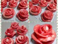 *~雙色玫瑰饅頭~*