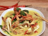 椰漿咖哩炒螃蟹