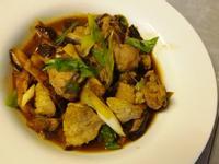 蔥燒香菇豬肉