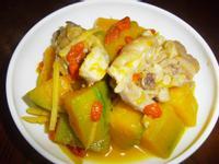 南瓜燒雞肉