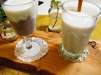 大甲芋頭三吃之二:芋泥+芋頭牛奶