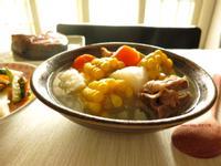 玉米山藥排骨湯