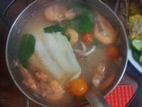 輕鬆版泰式酸辣海鮮湯