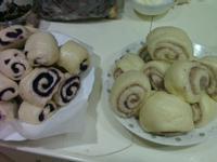 可愛地瓜芋頭卷Panasonic製麵包機