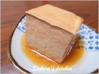 ♥我的手作料理♥古早味滷豆腐