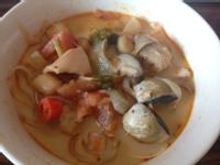 泰式酸辣海鮮濃湯