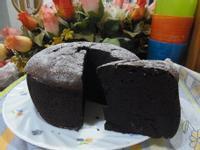 黑暗料理超濃巧克力蛋糕
