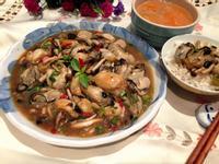 豆豉鮮蚵燴菇