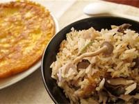 昆布芋香鮮菇電鍋炊飯