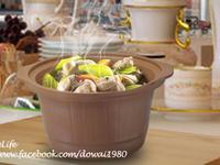 〔燉鍋食譜〕芥菜地瓜雞【全營養萃取鍋】
