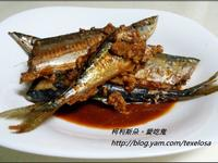 日式。佃煮秋刀魚