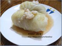 日式。簡易版高湯高麗菜捲