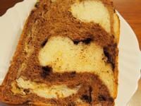 湯種雙色巧克力吐司 (Panasonic製麵包機)
