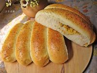 香甜玉米鮪魚麵包