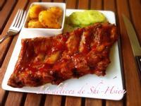 美式烤豬肋排,三步驟美味端上桌!