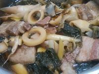 梅干桂竹筍滷肉