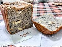 燕麥湯種起司黑芝麻土司-BM152麵包機