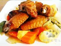 【阿努巴兜么】蜜汁烤雞-美極鮮味露
