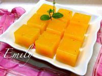 新鮮柳橙果凍