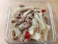 大頭菜炒肉