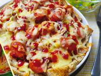 5分鐘義式比薩-德國香腸口味