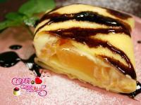 法式水蜜桃薄餅(平底鍋)