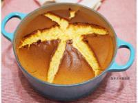 鐵鍋蜂蜜檸檬戚風蛋糕