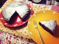 法式經典巧克力蛋糕♬浣熊廚房