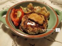【懶人食譜】氣炸鍋- 低油健康日式豆腐漢堡排