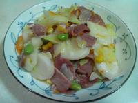 培根炒年糕片(博客輕食培根)