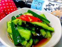 涼拌小黃瓜【淬釀日式下午茶點】
