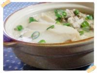 鮑魚豬肉丸子廣東粥