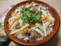 香菇赤肉羹麵【五木麵條】