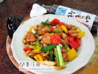 蜜汁雞腿炒甜椒之『淬釀中式下午茶點』