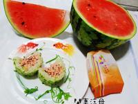 彩色米之西瓜飯糰