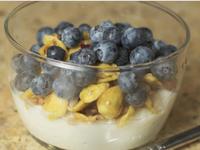 早餐好選擇-藍莓燕麥優格