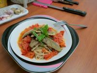 [小湯的美味食譜] 番茄鴨胸義大利麵 Le Creuset, Staub鑄鐵鍋實做