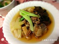 台灣味~魷魚螺肉大蒜湯