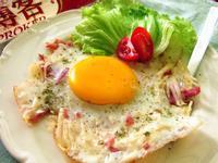 10分鐘快速早餐【洋芋培根蛋】