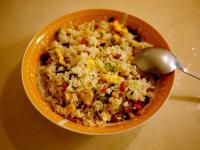 玉米火腿蛋炒飯
