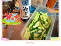 味噌小黃瓜-淬釀日式下午茶點