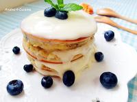法式藍莓鬆餅