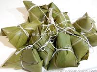 ♥憶柔蔬食♥月桃葉包粽子~素食