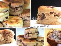 小小烤箱立大功:療癒系點心《英式巧克力司康》