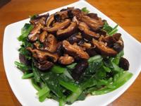 【粉豬兒】蠔油香菇芥蘭
