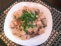 蠔油香菇豆腐