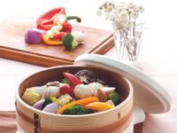 JIA Inc. 蒸鍋蒸籠|清蒸多色鮮蔬